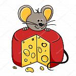 depositphotos 8950762-stock-illustration-mouse-cheese