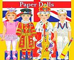 Great British Traditions Paper Dolls